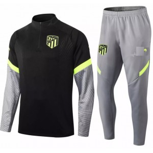 Kit treinamento Atletico de Madrid 2020 2021 Preto