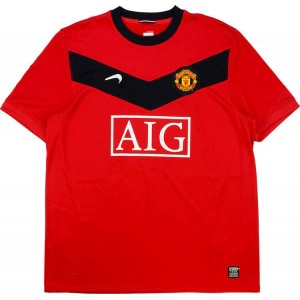 Camisa I Manchester United 2009 2010 retro Home