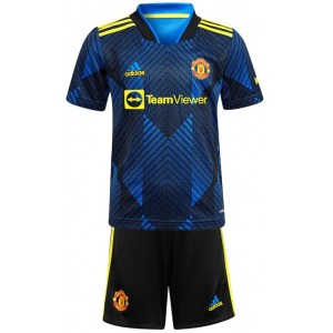 Kit infantil III Manchester United 2021 2022 Adidas oficial