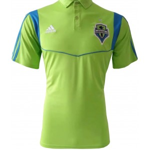 Camisa polo oficial Adidas Seattle Sounders 2019 verde
